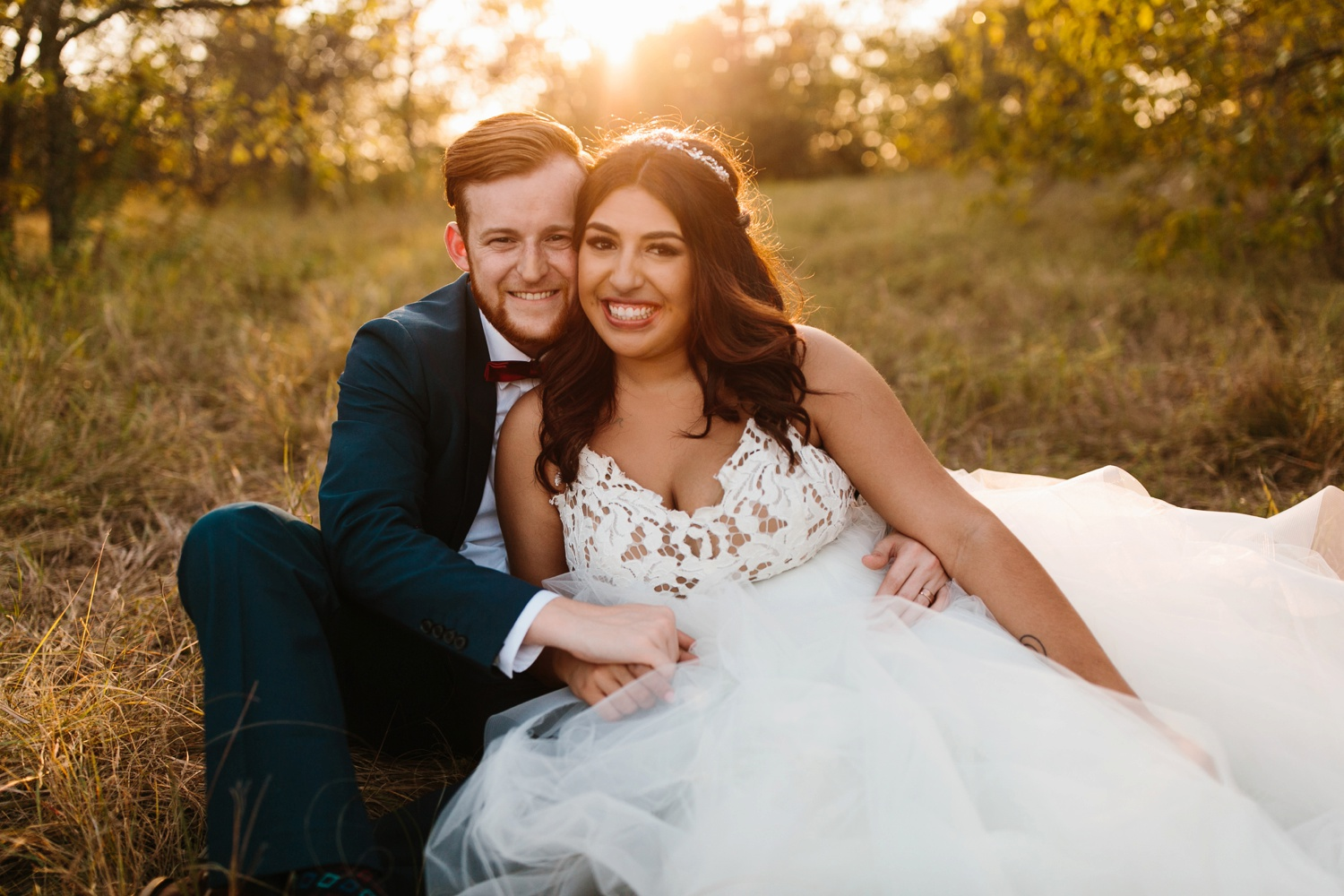 Grant + Lysette | a vibrant, deep burgundy and navy, and mixed metals wedding at Hidden Pines Chapel by North Texas Wedding Photographer Rachel Meagan Photography 230