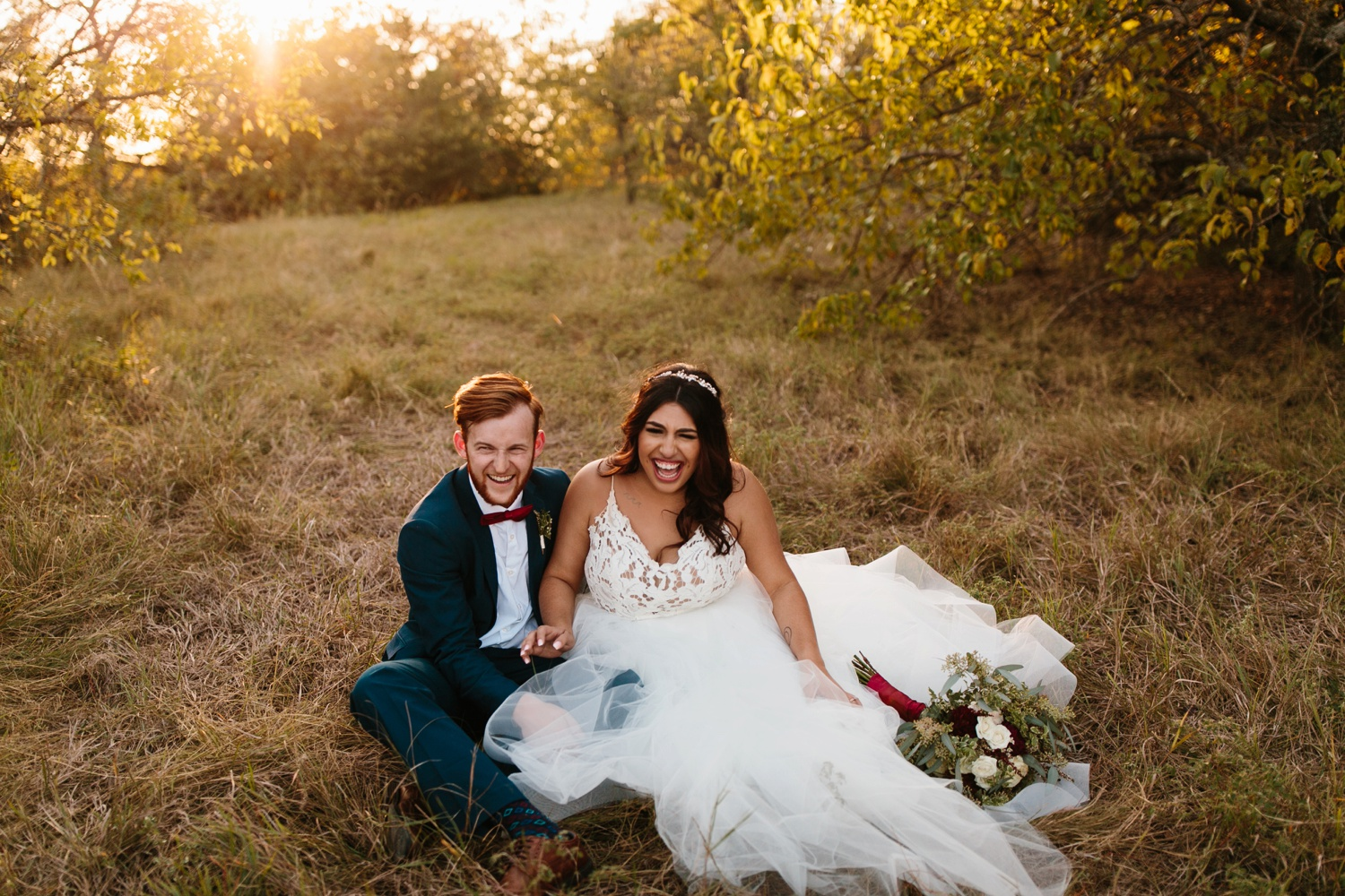 Grant + Lysette | a vibrant, deep burgundy and navy, and mixed metals wedding at Hidden Pines Chapel by North Texas Wedding Photographer Rachel Meagan Photography 233