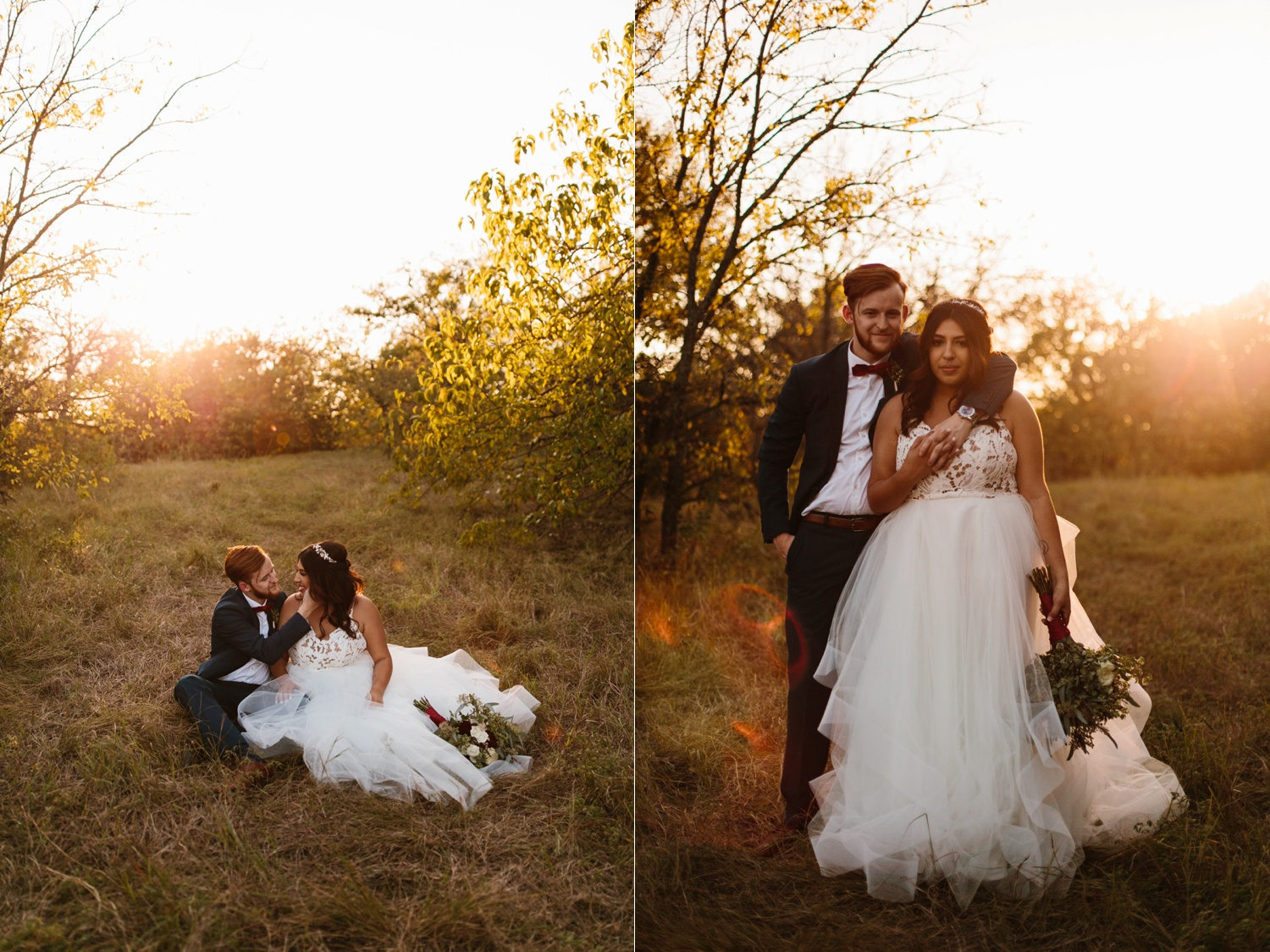 Grant + Lysette | a vibrant, deep burgundy and navy, and mixed metals wedding at Hidden Pines Chapel by North Texas Wedding Photographer Rachel Meagan Photography 234