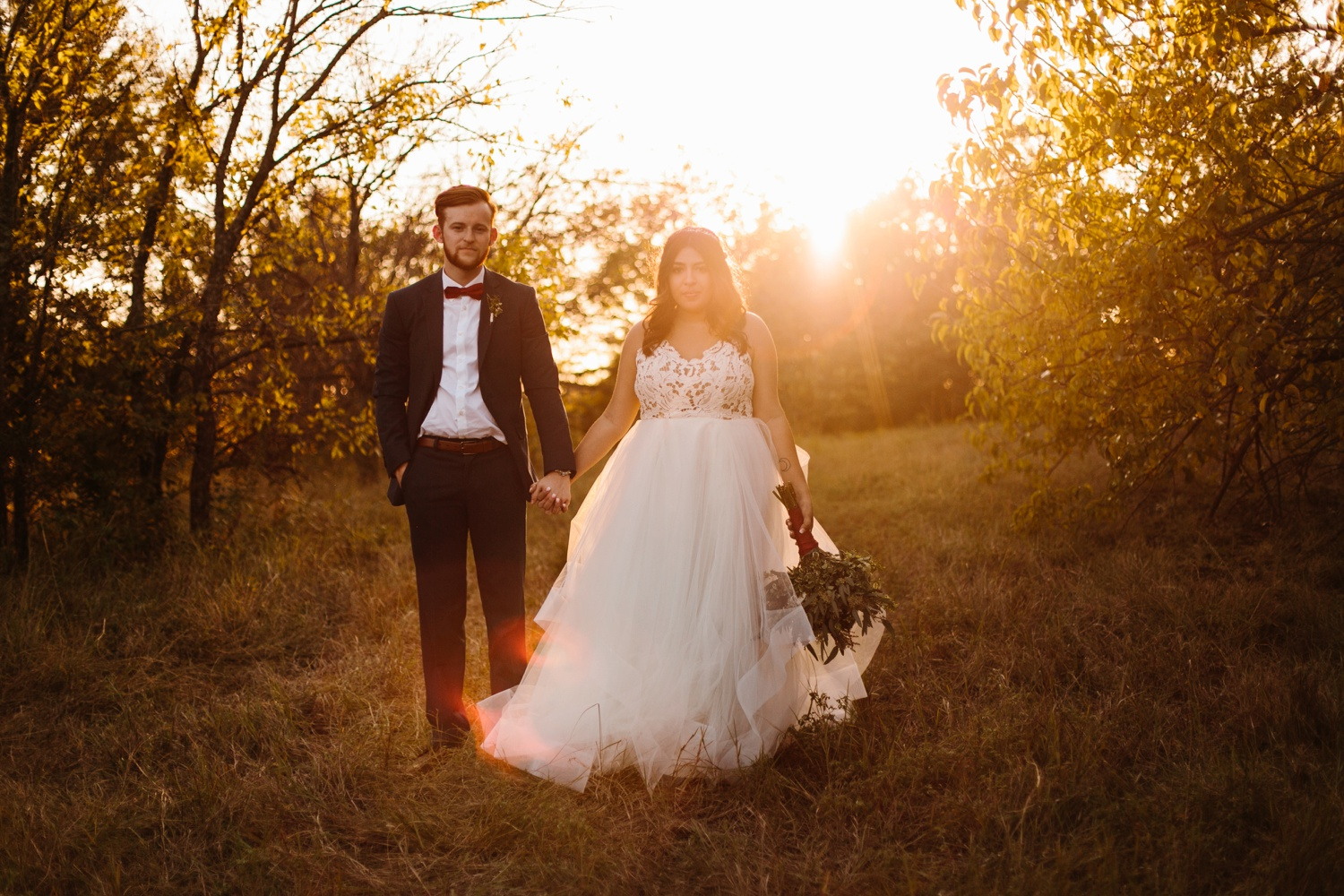 Grant + Lysette | a vibrant, deep burgundy and navy, and mixed metals wedding at Hidden Pines Chapel by North Texas Wedding Photographer Rachel Meagan Photography 235