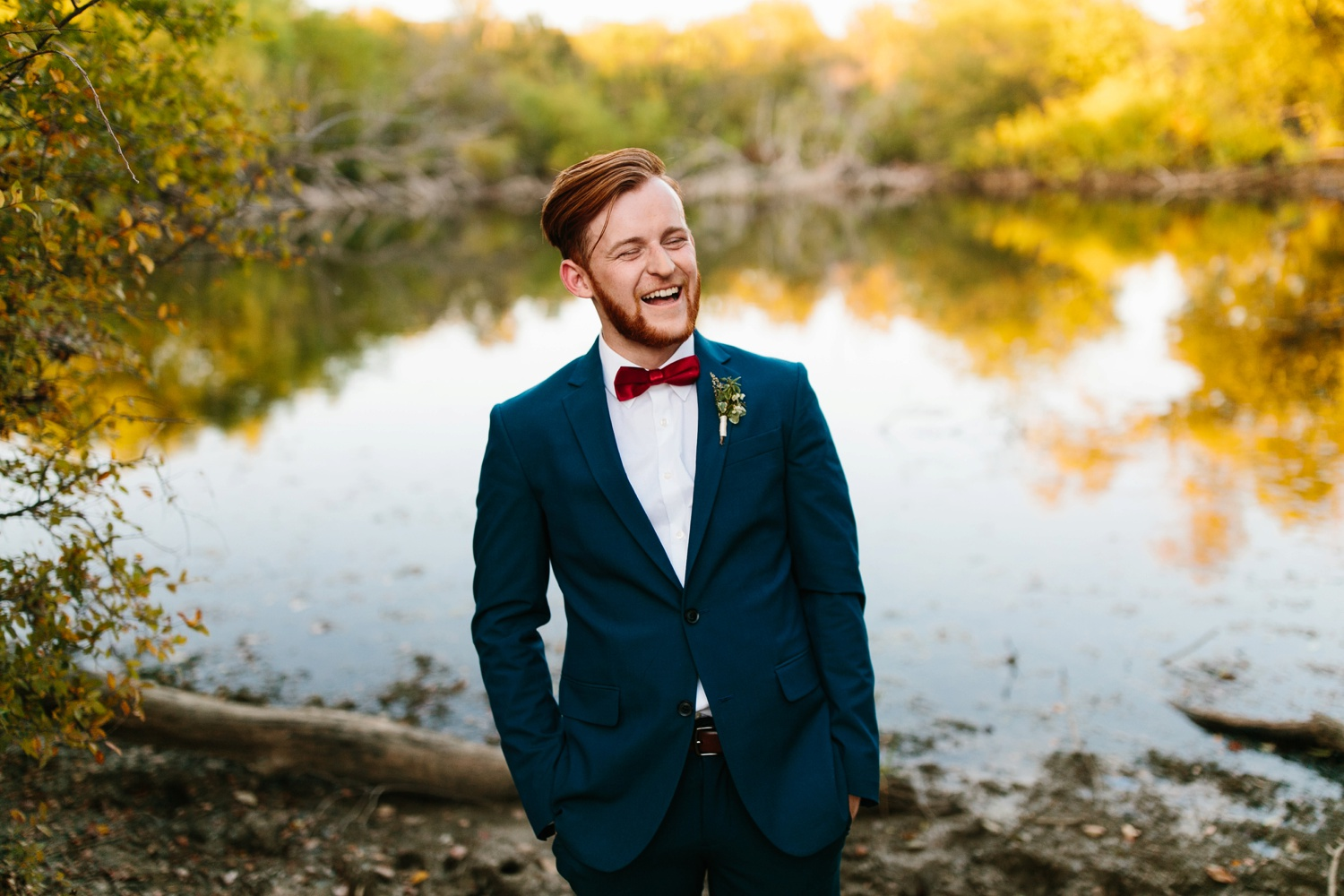 Grant + Lysette | a vibrant, deep burgundy and navy, and mixed metals wedding at Hidden Pines Chapel by North Texas Wedding Photographer Rachel Meagan Photography 240