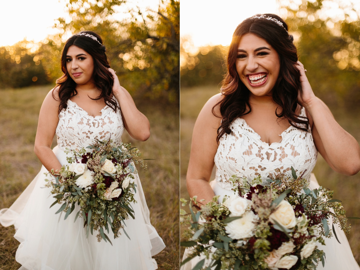 Grant + Lysette | a vibrant, deep burgundy and navy, and mixed metals wedding at Hidden Pines Chapel by North Texas Wedding Photographer Rachel Meagan Photography 241