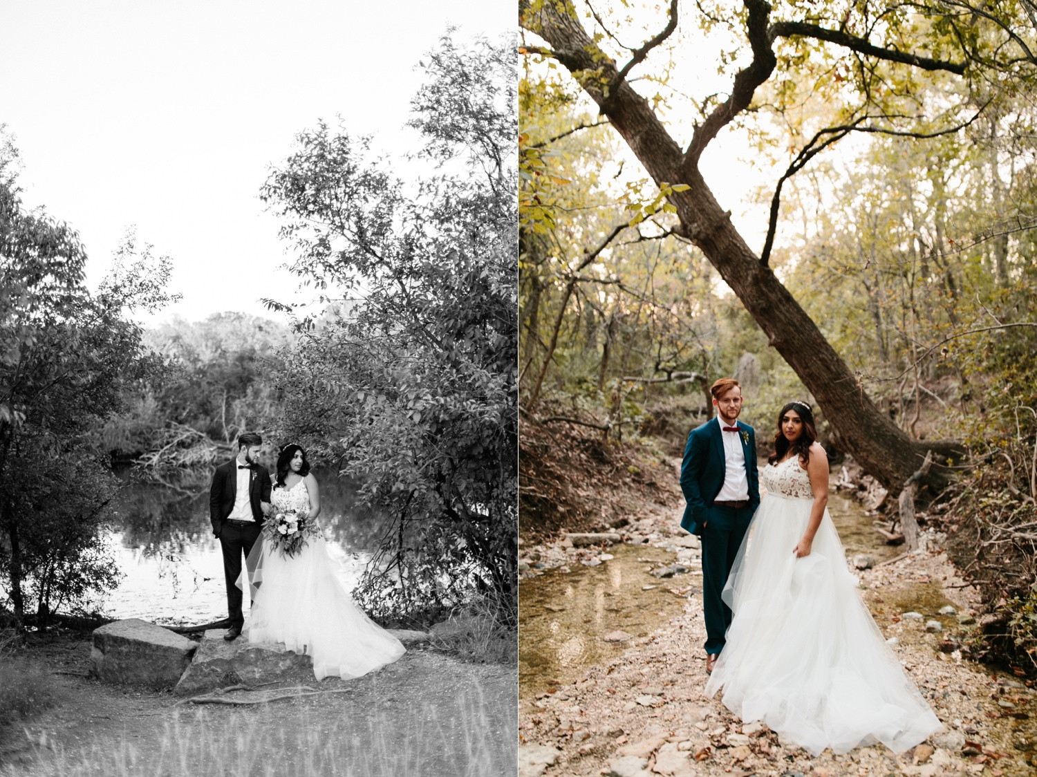 Grant + Lysette | a vibrant, deep burgundy and navy, and mixed metals wedding at Hidden Pines Chapel by North Texas Wedding Photographer Rachel Meagan Photography 244