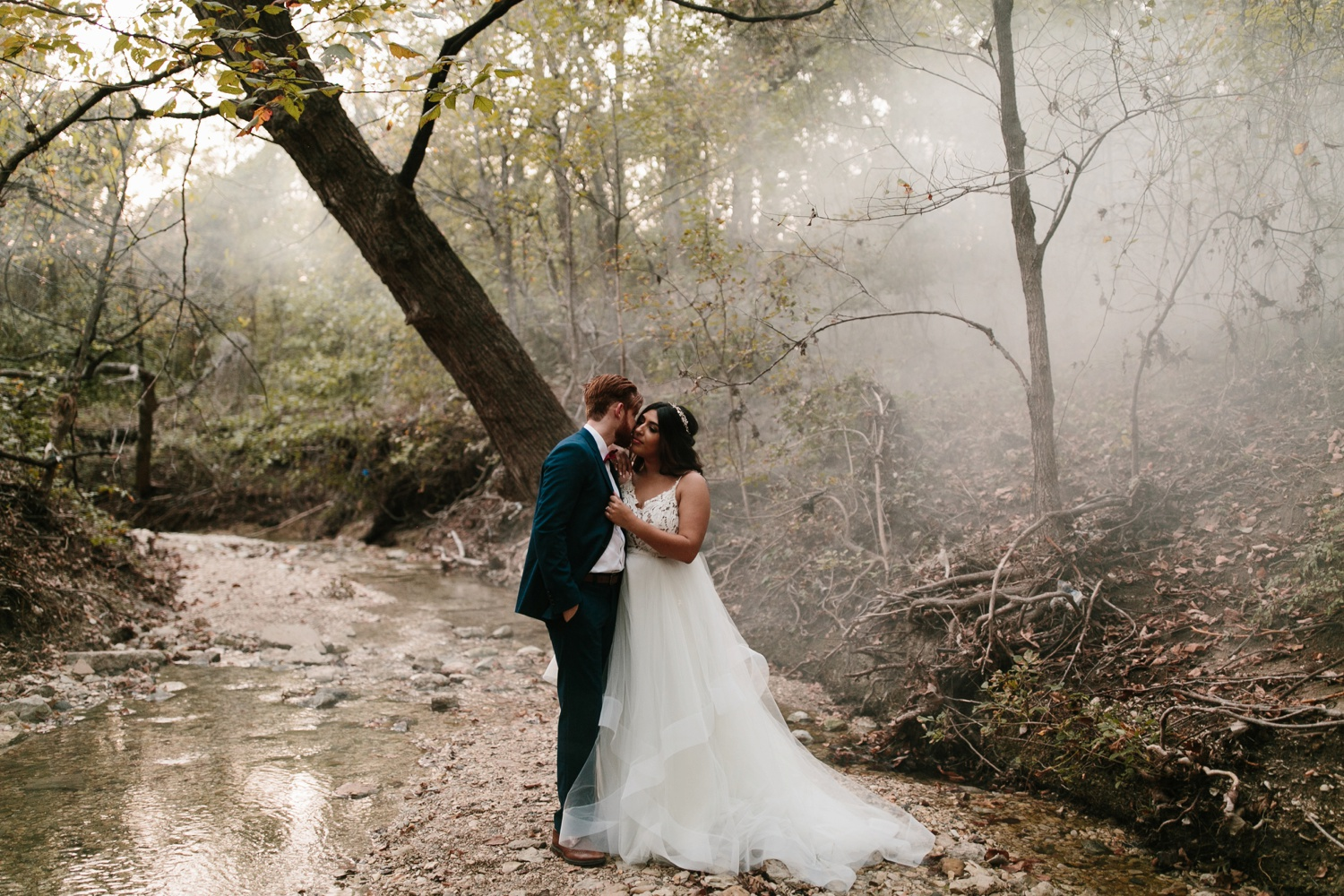 Grant + Lysette | a vibrant, deep burgundy and navy, and mixed metals wedding at Hidden Pines Chapel by North Texas Wedding Photographer Rachel Meagan Photography 256