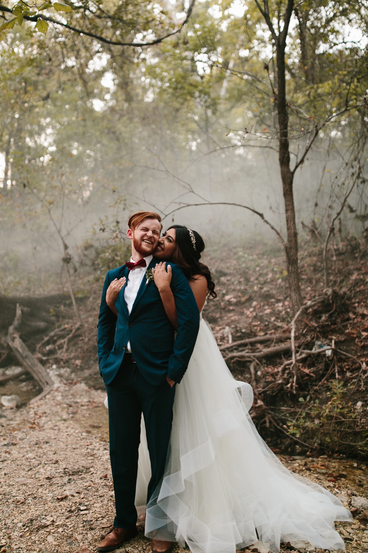 Grant + Lysette | a vibrant, deep burgundy and navy, and mixed metals wedding at Hidden Pines Chapel by North Texas Wedding Photographer Rachel Meagan Photography 257