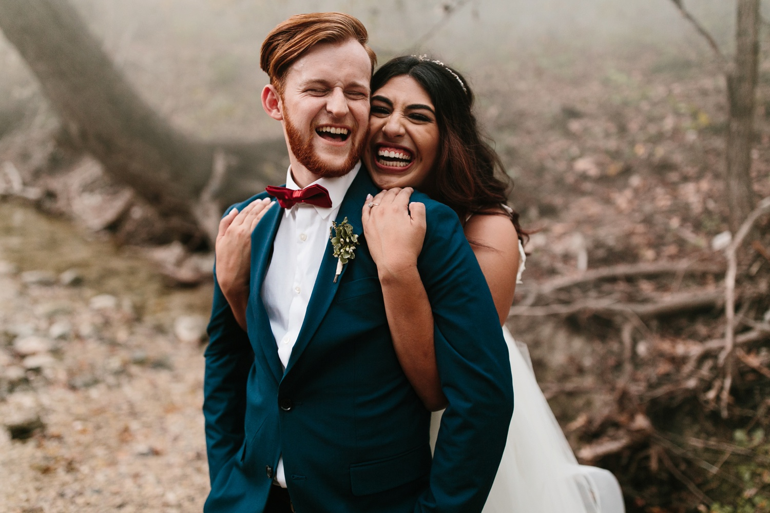 Grant + Lysette | a vibrant, deep burgundy and navy, and mixed metals wedding at Hidden Pines Chapel by North Texas Wedding Photographer Rachel Meagan Photography 258
