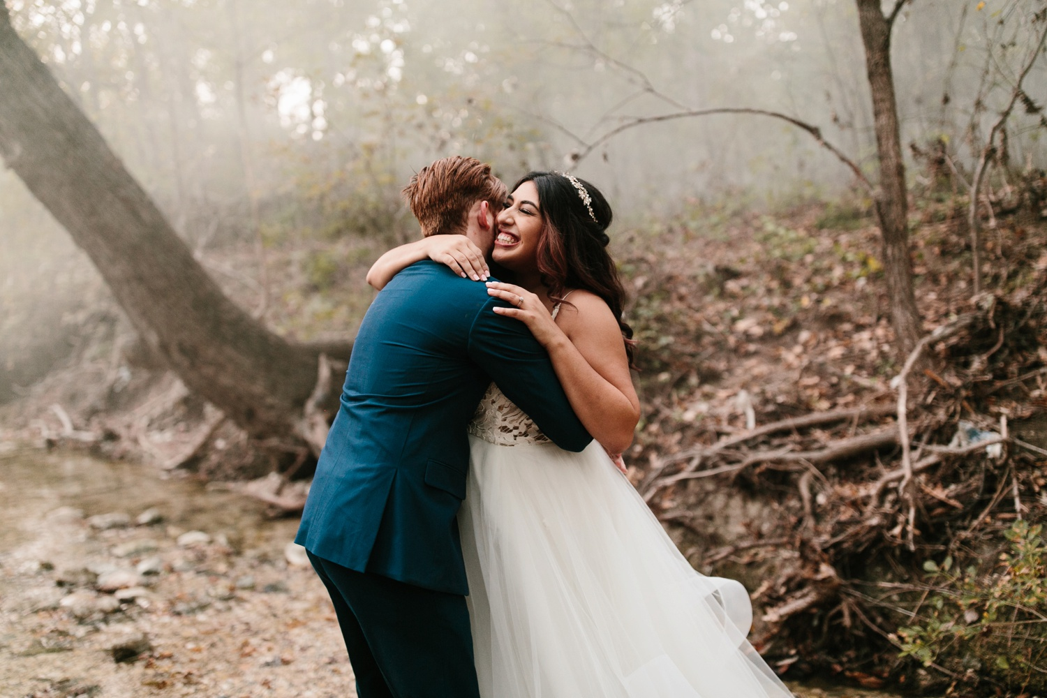 Grant + Lysette | a vibrant, deep burgundy and navy, and mixed metals wedding at Hidden Pines Chapel by North Texas Wedding Photographer Rachel Meagan Photography 260
