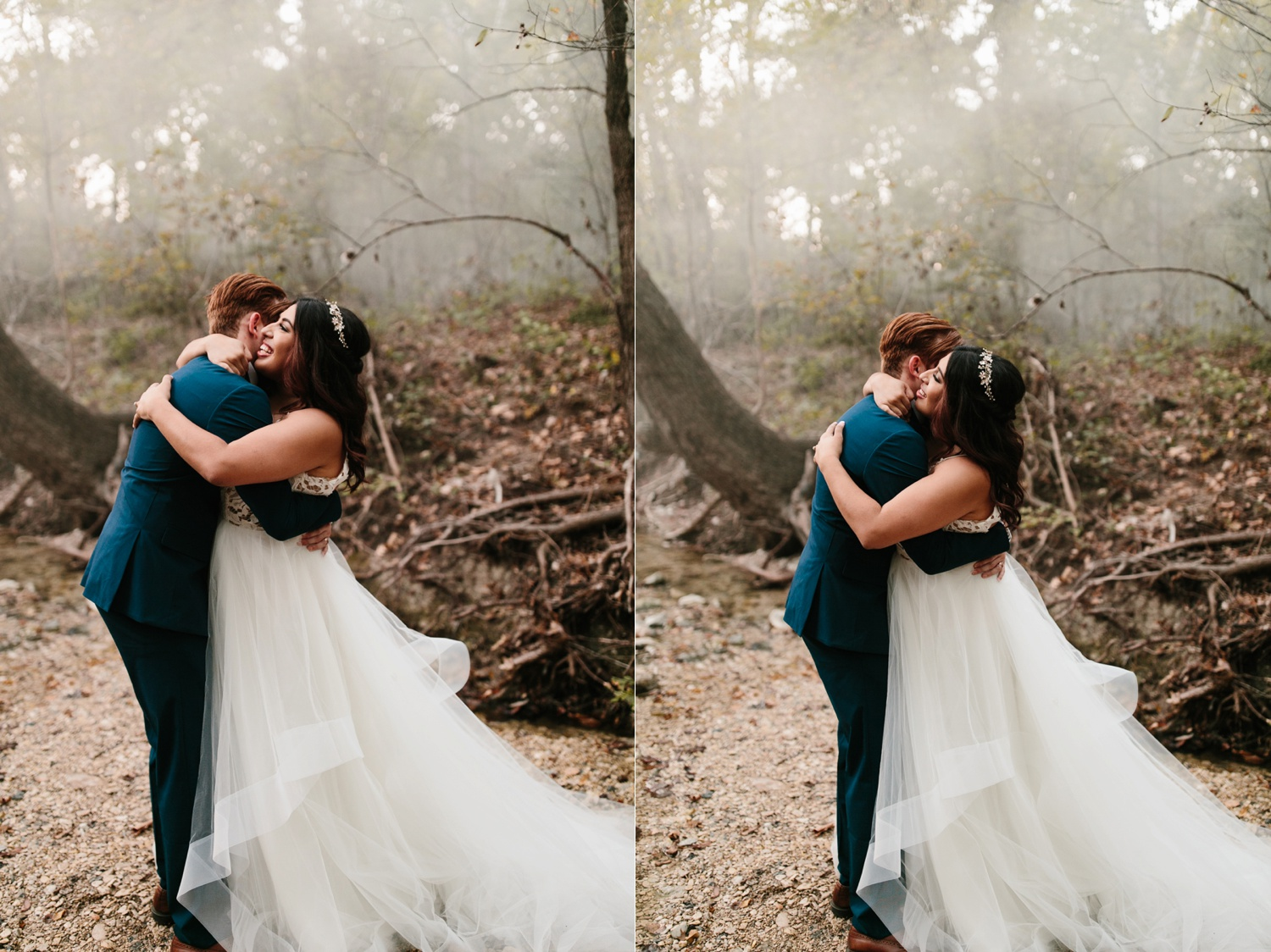 Grant + Lysette | a vibrant, deep burgundy and navy, and mixed metals wedding at Hidden Pines Chapel by North Texas Wedding Photographer Rachel Meagan Photography 261