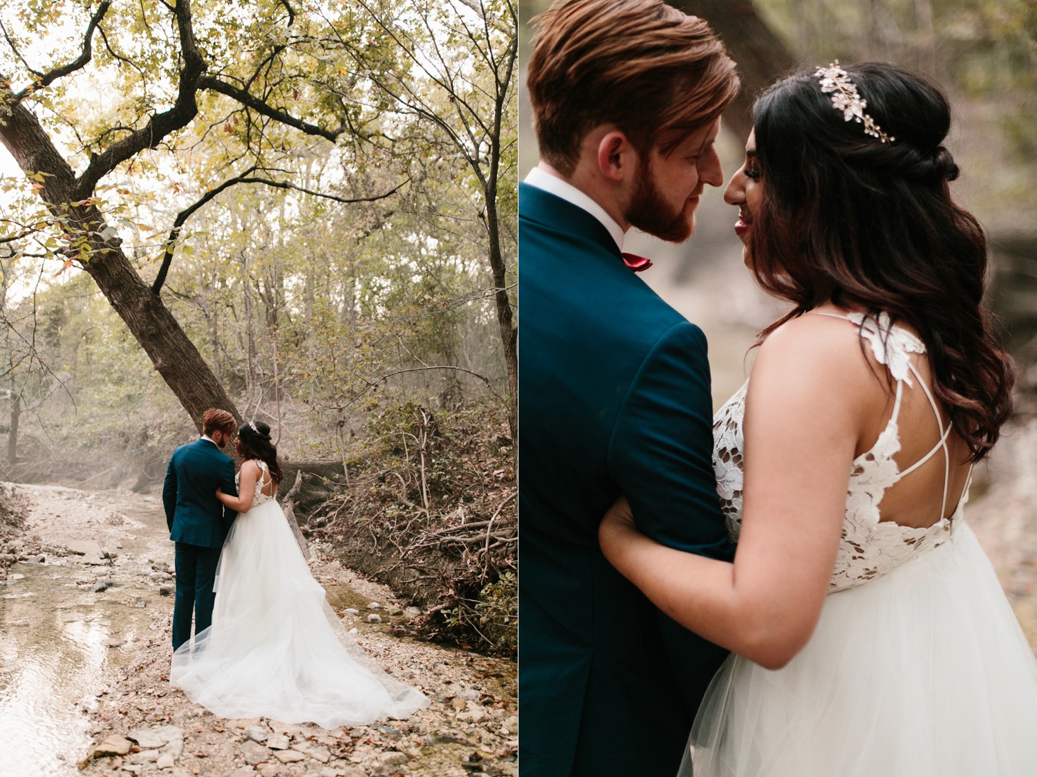 Grant + Lysette | a vibrant, deep burgundy and navy, and mixed metals wedding at Hidden Pines Chapel by North Texas Wedding Photographer Rachel Meagan Photography 262