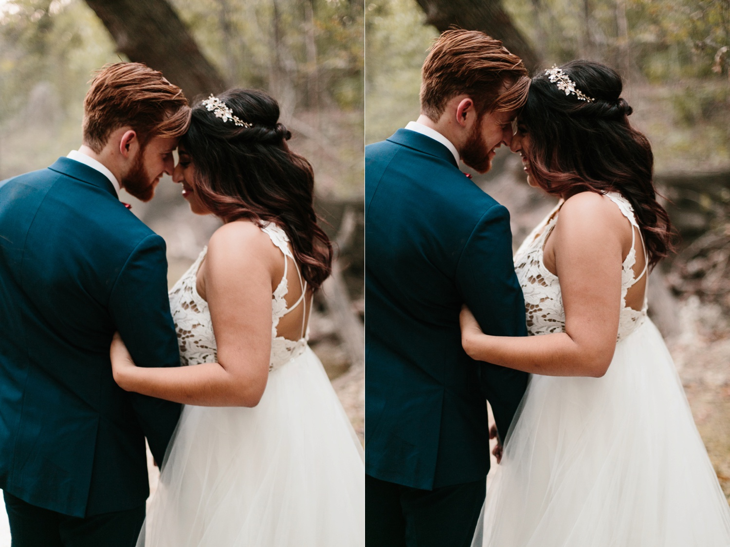 Grant + Lysette | a vibrant, deep burgundy and navy, and mixed metals wedding at Hidden Pines Chapel by North Texas Wedding Photographer Rachel Meagan Photography 265